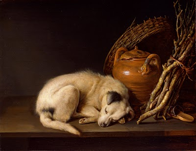 Gerrit-dou-sleeping-dog
