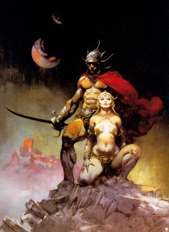 Mes illustrations - Page 2 Frank_frazetta_1