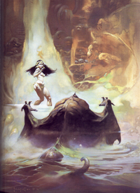 Frazetta's At The Earth's Core