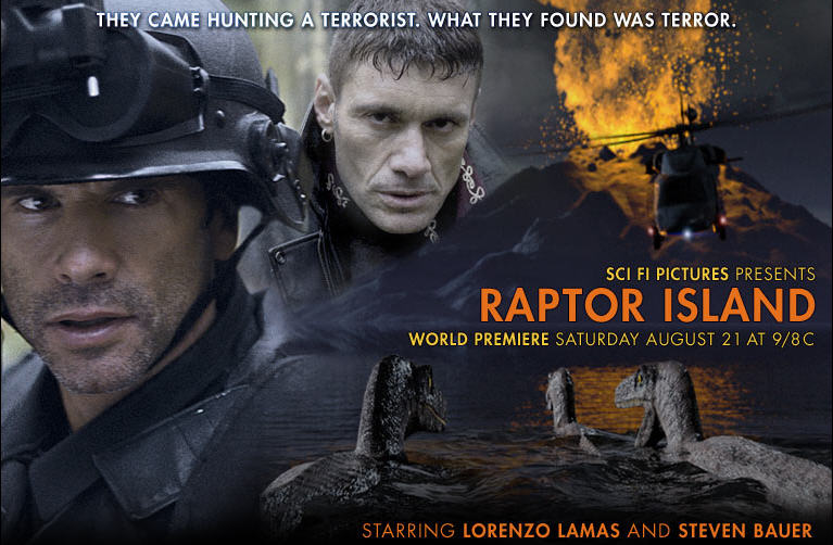 The B Flick Chick Movie Review 50 Raptor Island 2004